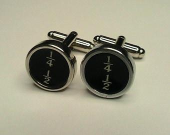 Custom Underwood Typewriter Cufflinks