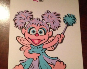 Abbey (sesame street) 2nd Birthday card