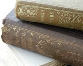 Mid 1800's - Scarce Antique Books - Sir Walter Scott and Thomas Campbell - Collection - Library