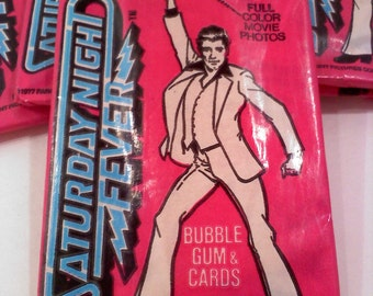 Saturday Night Fever Trading Cards
