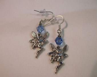 Fairy Pixy Earrings Silver Earrings Fantasy Earrings