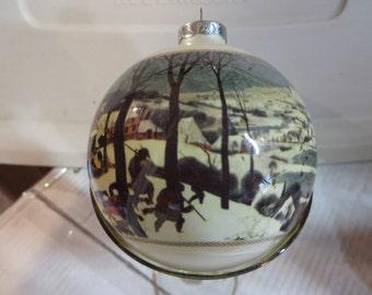 "Vintage Hallmark ""A Museum Masterpiece"" Ornament, Ornament, Reduced, Hallmark, Museum"