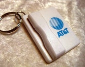 Retro AT&T Cell Phone Pen Keychain