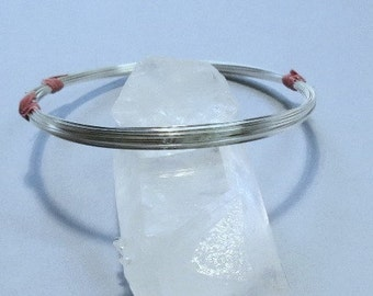 5 Feet 21 gauge Sterling Silver Wire - SQUARE - Half-Hard