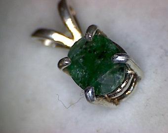 Beautiful Colombian Emerald Pendant