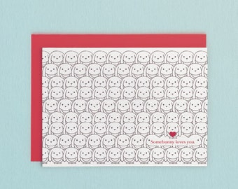Somebunny Loves You Card