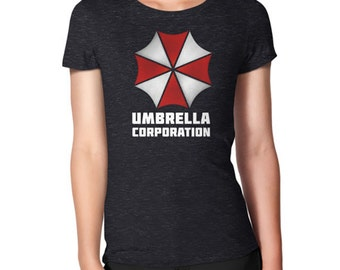UMBRELLA CORPORATION Shirt, Fitted Women's Style, All Sizes & Colors