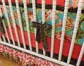 SALE--VALENTINES SALE---- Crib Bedding Made To Order Baby Bedding