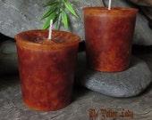 Court Case Candles -Spiritual Candles, Ritual Candles - Galangal, Cascara Sagrada, Brown Sugar