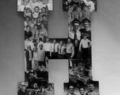 Custom Photo Collage, Personalized Photo Gift, Custom College Grad  Gift