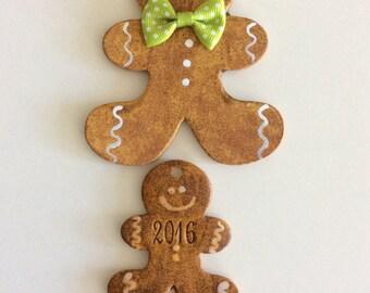 Scented Ornament  ,gingerbread, tree , Apple, pumpkin