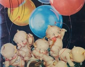 "Vintage Book on Kewpies & Rose O'Neill, 8.5 x 11"" with cute frameable Illustrations, Ozark Museum"