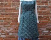 Boho Tunic, Boho Dress,Shabby Chic Tunic,Cotton Dress,by Nine Muses Of Crete