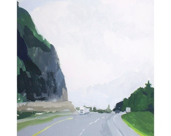 "8x10"" print - landscape art - ""Travel 1"""