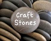 Craft Rocks Flat Beach Stones Craft Stones Art Rocks Wish Rocks Wishing Stones - 50 SMALL STONES 3.5 cm