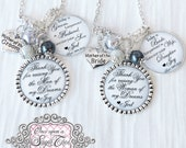 Mother of the Bride Jewelry-Mother of the Groom Jewelry-Thank you Gifts Parents- Gift from Groom-Gift from Bride-Today a Groom-Today a Bride