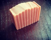 ORANGE SPICE- handmade cold process soap with the warm scent of orange, clove, and a hint of patchouli