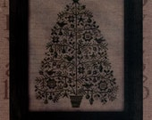 All Through the Night: Oh Christmas Tree - Cross Stitch Pattern
