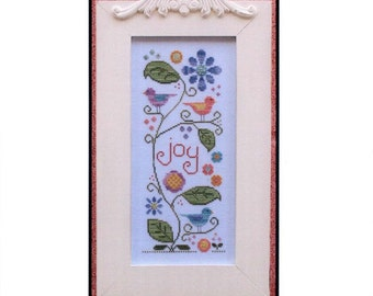 Country Cottage Needlework: Joyful Summer - Cross Stitch Pattern