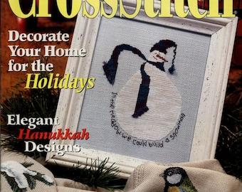 Just Cross Stitch Magazine: December 2002 Issue