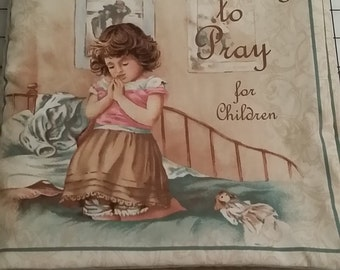 Learning to Pray Fabric Book