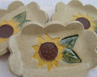 Sunflower  Soap Dish