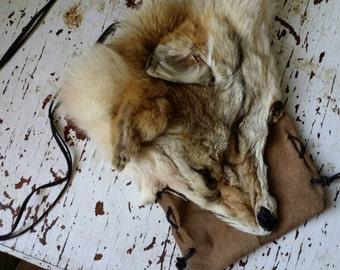 Coyote Pelt Bag