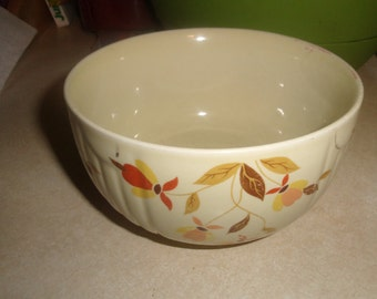vintage halls china superior mary dunbar jewel tea large mixing nesting bowl