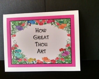 Favorite Hymns Note Cards