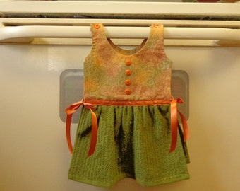 Green Mini - Hanging Kitchen Towel