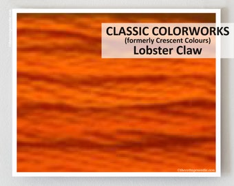 LOBSTER CLAW  : Classic Colorworks hand-dyed embroidery floss cross stitch thread at thecottageneedle.com