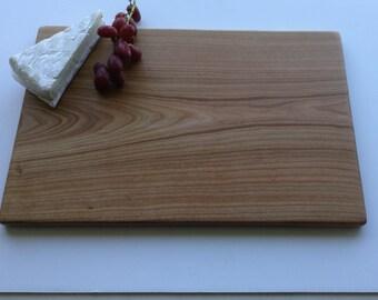 Large Wooden Cutting Board, presentation platter made from Cherry, wedding present, housewarming gift