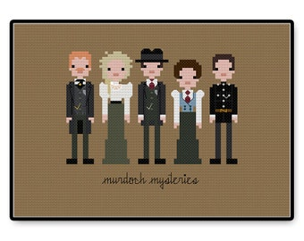 Murdoch Mysteries - Cross Stitch PDF Pattern