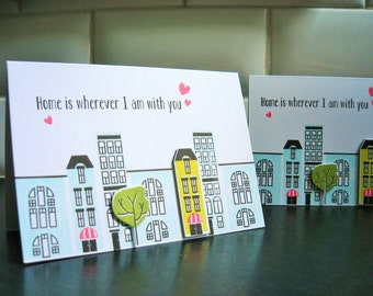 Anniversary Card, Valentine Card, I Love You Card, Welcome Home, Deployment Card