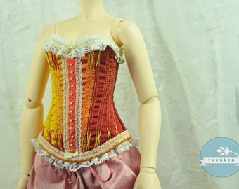 Firedrops BJD Antique Line Corset for Delf SD Girl