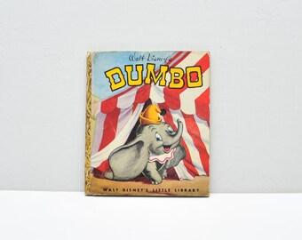 Dumbo -- Little Golden Book -- 1947 --