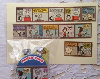 NEW Japanese masking tape Snoopy 25mm