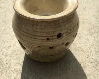 Unique ceramic wax tart or scented oil warmer