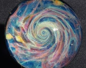 Spiral Galaxy Glass Marble