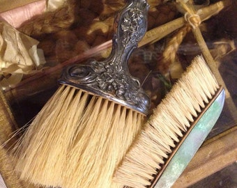 Beautiful Old Antique Brushes