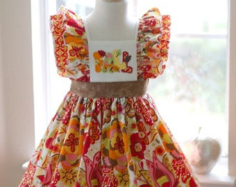 Mirabelle Fall Dress-  I can make 2or3 more acorrding to size