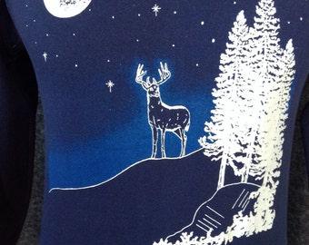 1980's Buck sweatshirt USA L