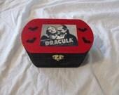 Dracula Bela Lugosi Keepsake Stash Box