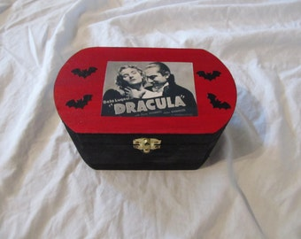 Dracula Bela Lugosi Keepsake Stash Box