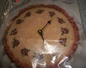 Stitch 'N Time Cross Stitch Clock Kit