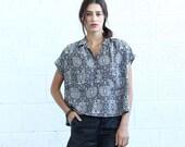 SALE!Poncho Shirt, Geo Print