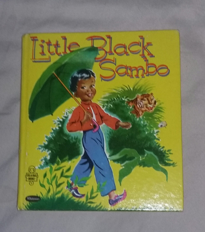 Vintage children's book Little Black Sambo 1953 by ...
