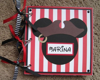 Disney Autograph Book - Pirate Mickey Mouse