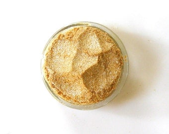 Mineral Eyeshadow | Mineral Makeup | Vegan Eyeshadow | Natural Makeup | Citrine