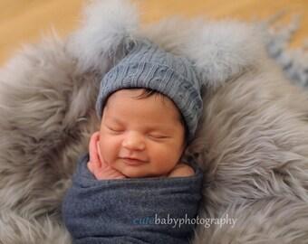 Newborn Pompom Hat. Prop Double Pompom Hat. Newborn Jester Hat. Babies Bobble Hat. Pompom Hat. Hats. Newborn Photography Prop. UK Seller